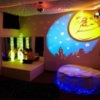 Sensory processing disorder explained with a multisensory room